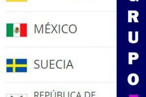 Apuestas México Grupo F Copa del Mundo 2018
