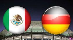 El juego Alemania vs México de la primera fecha en Rusia 2018