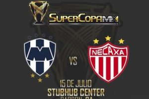 Apuestas Final Supercopa MX Monterrey vs Necaxa hoy