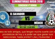 pronostico de apuestas deportivas mexico vs el salvador hoy viernes 2 de septiembre 2016 en eliminatorias concacaf mundial rusia 2018