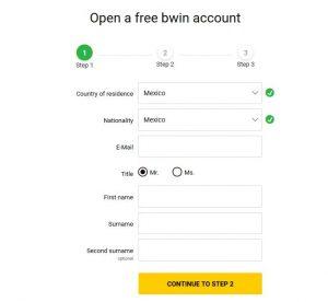 Cómo registrarse en bwin