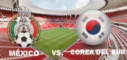 Juego de la segunda fecha del Mundial de Rusia 2018 entre Corea del Sur vs México