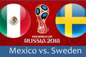 Apuestas México vs Suecia Mundial Rusia 2018