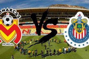 Apuestas Fútbol Morelia vs Chivas hoy sábado 13 abril 2019 Liga MX